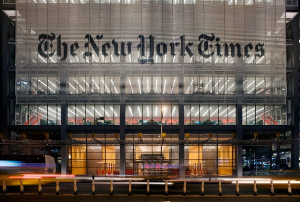 new york times building front nyt